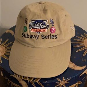 2000 Yankees Mets Subway Series cap